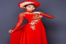 Xu hướng áo dài cưới cô dâu được yêu thích nhất hiện nay