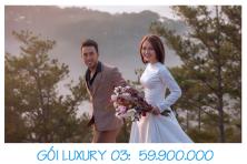 Bảng Giá Dịch Vụ Cưới Trọn Gói LUXURY 03 - 59.900.000 VNĐ